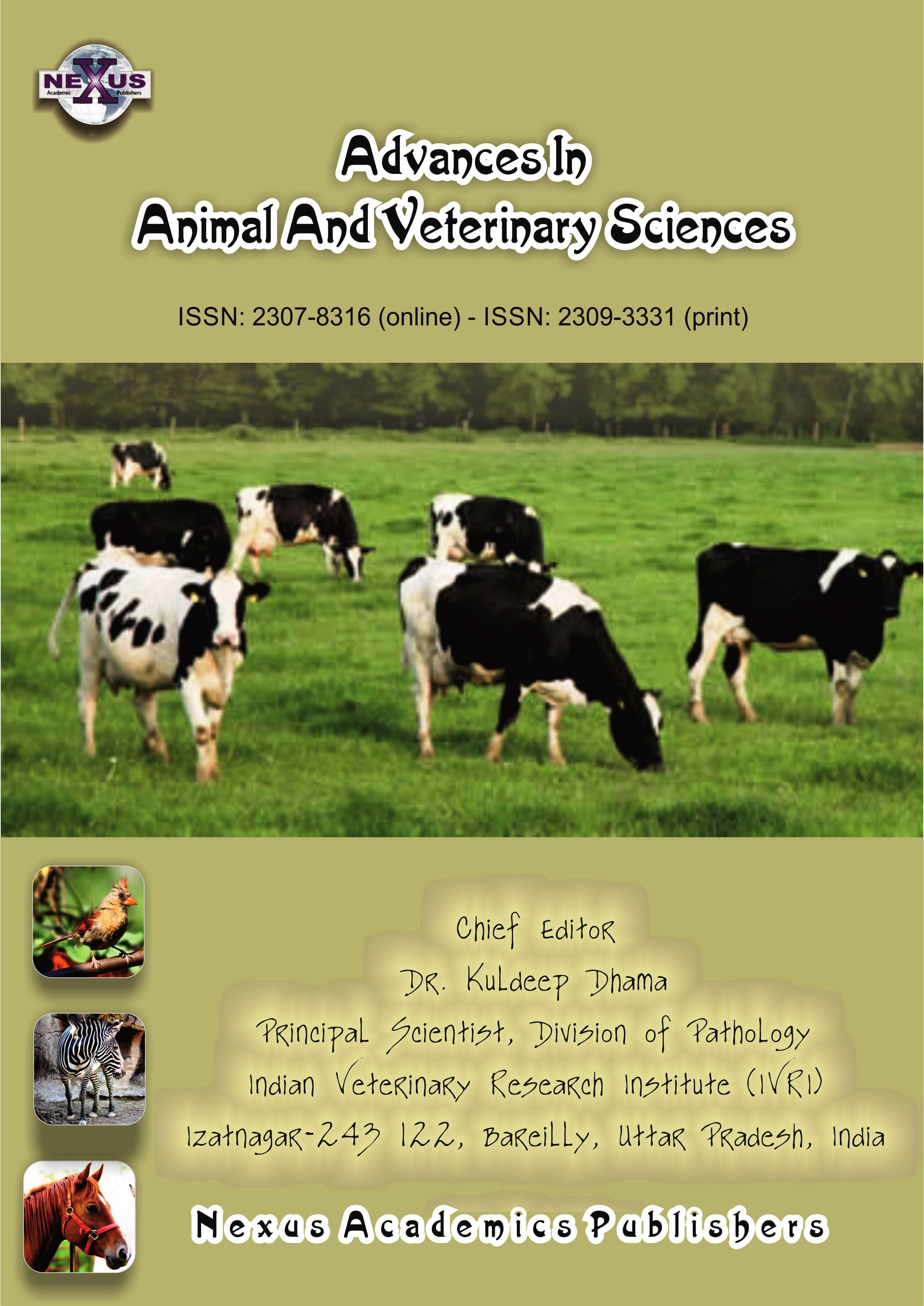 Advances in Animal and Veterinary Sciences